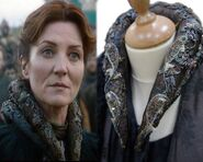 Catelyn Season 2 collar embroidery detail