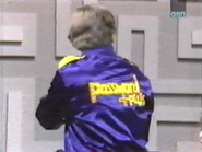 Pat Shows off His P+ Jacket