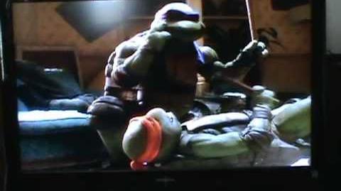 Ninja Turtles Playing Wheel of Fortune