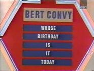 Bert Convy Birthday Puzzle