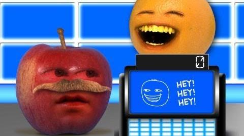 Annoying Orange on Fruit For All (Parody of Jeopardy)