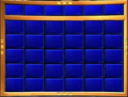 Jeopardy Board Template