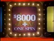 Celebrity PYL $8000 + One Spin