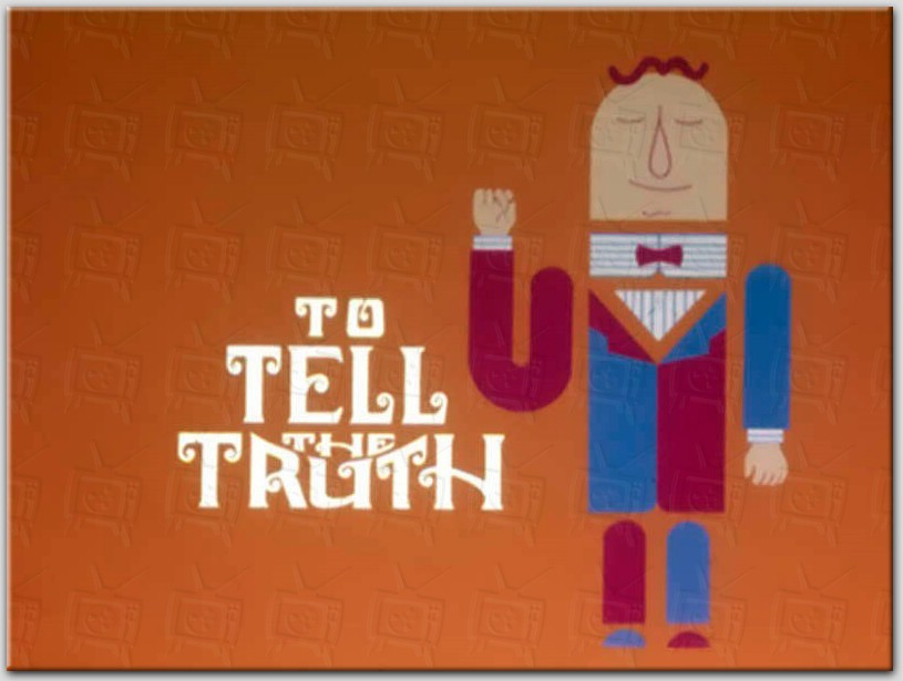 image to tell the truth logo 1969jpg game shows wiki