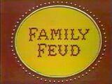 Family Feud 1987 Pilot Logo