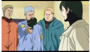 Kosuke with the gun