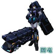 Anryuu Robot and Vehicle Modes