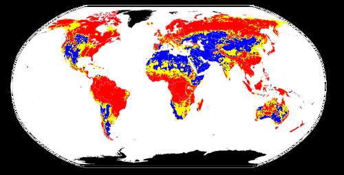 Worldwide soil pH