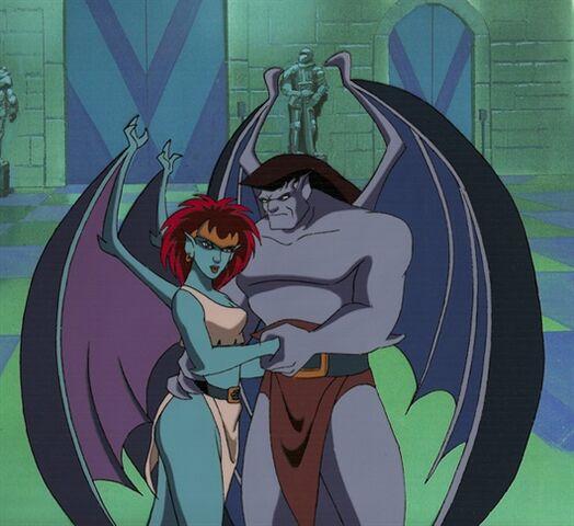 File:Goliath and Demona.jpg