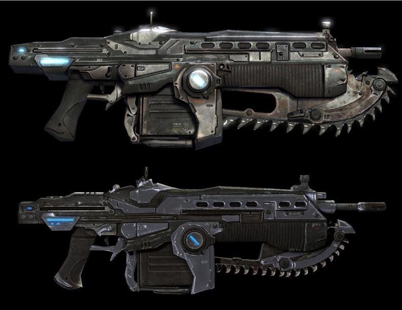 Gears of War 2 Lancer Assault Rifle