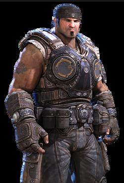 Gears of War 3 Personajes COG Marcus Fenix V2.png
