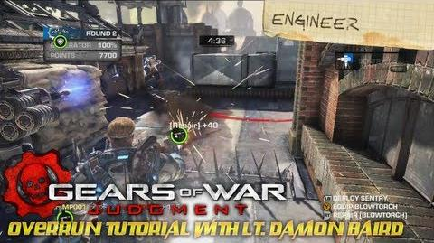 Gears of War Judgment - OverRun Tutorial with Lt
