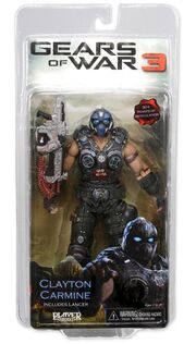 Gears Of War 3 Clayton Carmine action figure