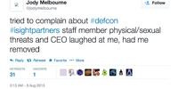 DEFCON 21 incidents