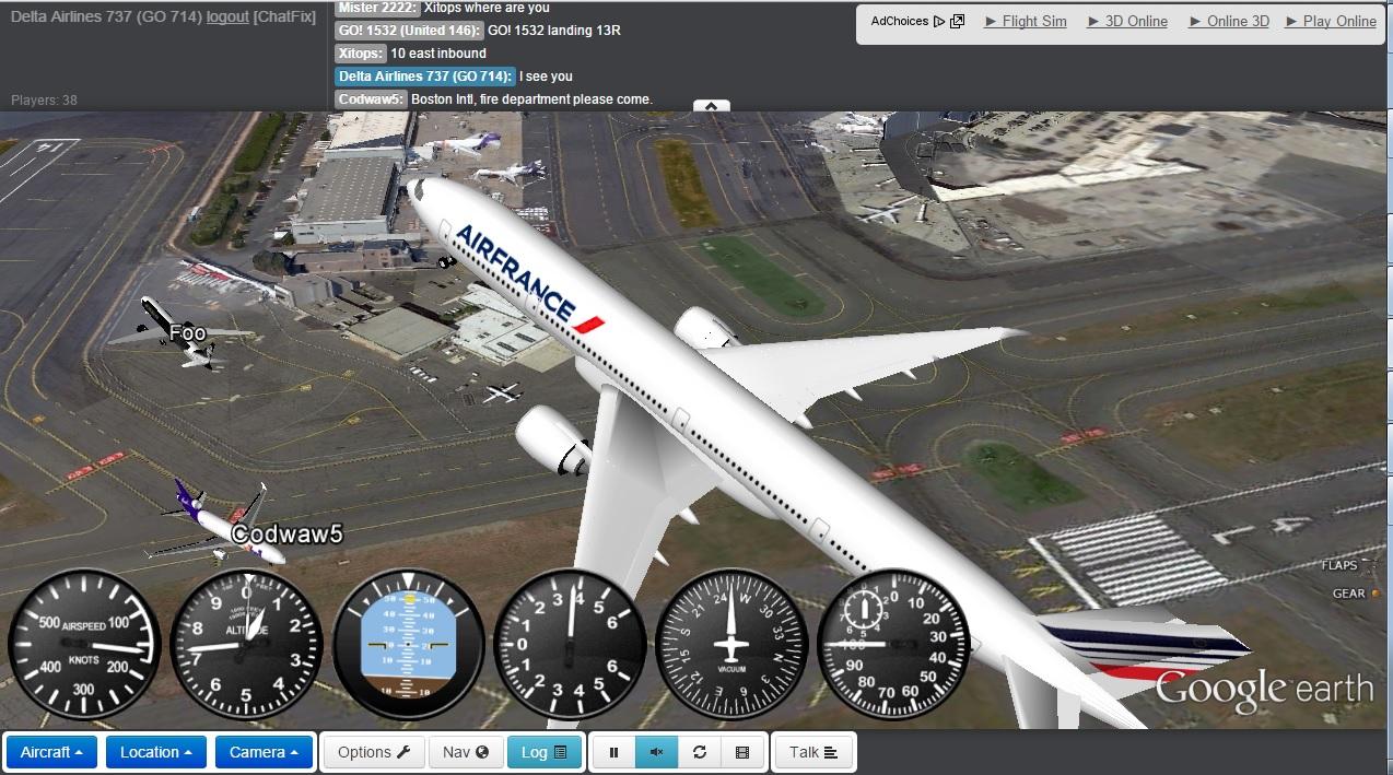 boeing 777 online simulator