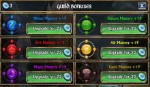 Guild Masteries
