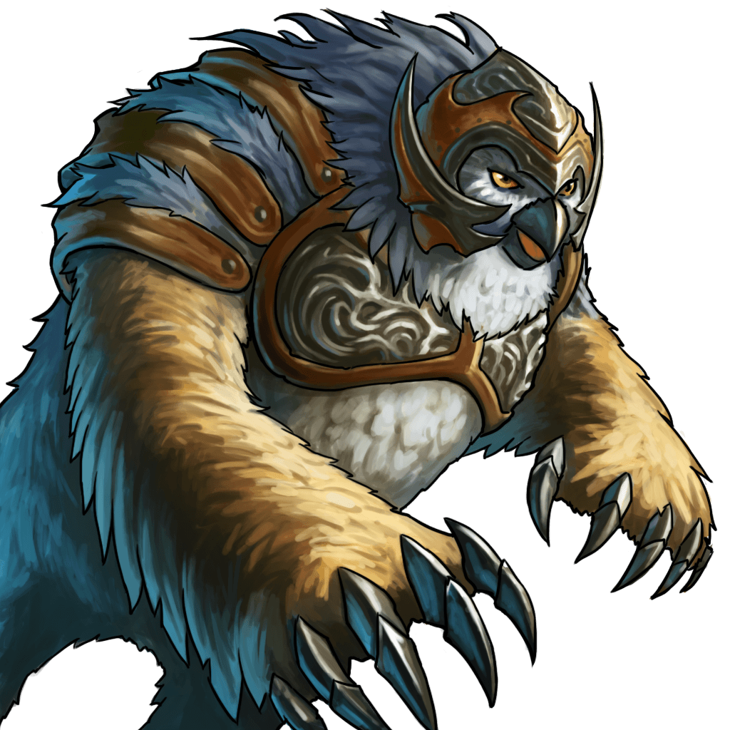 Chewbacca the Owlbear