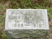 Chester W. Bentley tombstone