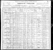 1900 census Martin Philips