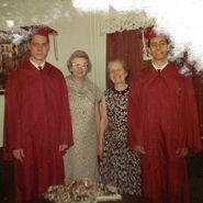 John Earl Borland II, Elizabeth Marie (Forbes) Borland-Tripp, Marie Elizabeth (Winblad) Freudenberg, and Michael Joseph Borland