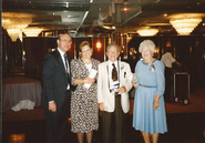 Uncle Lonnie and aunt Diana with Naida Freudenberg and Burnett Van Deusen in 1991
