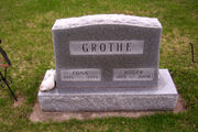 Grothe-Roger tombstone