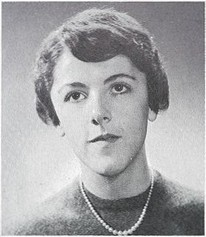 Stanley Ann Dunham 1960 Mercer Island High School yearbook