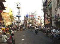 Erode street life