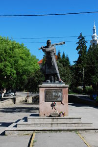 RO HR Odorheiu Secuiesc szekler heroes monument