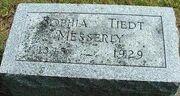 Sophia Tiedt 1848 gravestone