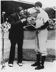 Babe Ruth George Bush