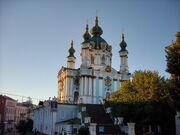 Saint Andrew's Church of Kiev photo by Yuriy Kolodin