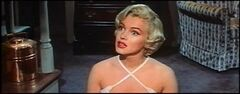 Monroe listening in The Seven Year Itch trailer 1
