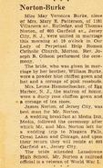Norton-Thomas 1950 marriage
