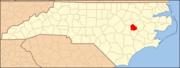 North Carolina Map Highlighting Greene County.PNG