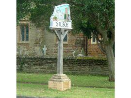Silsoe village sign