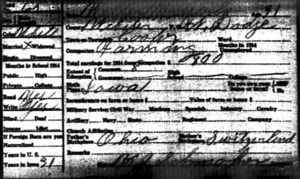 Iowa State Census.1915.Webster.Cooper-Messerly Walter