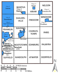 Portage County labeled
