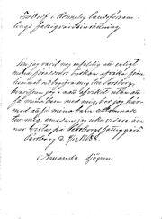 Amandas brev