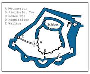 Hanau-Karte-Altstadt(um 1550)