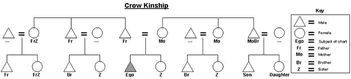 Crow-kinship-chart