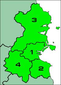 Map of the Dublin Region2