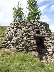 Old lime kiln at Badenyon
