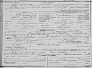 Freudenberg Conklin 1921 marriage crop