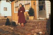 Maria Elisabeth Winblad II (1895-1987) in 1960 in Paramus, New Jersey
