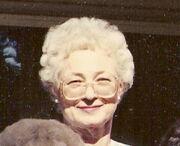 Edna Mae Williamson (1925-1993)