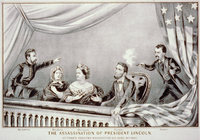 The Assassination of President Lincoln - Currier and Ives