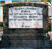 Elijah Reuben Marks and Elizabeth Christie