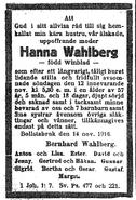 Winblad-Johanna 1916 funeral