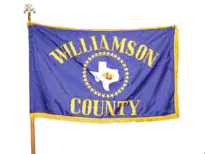 Williamson County, Texas flag